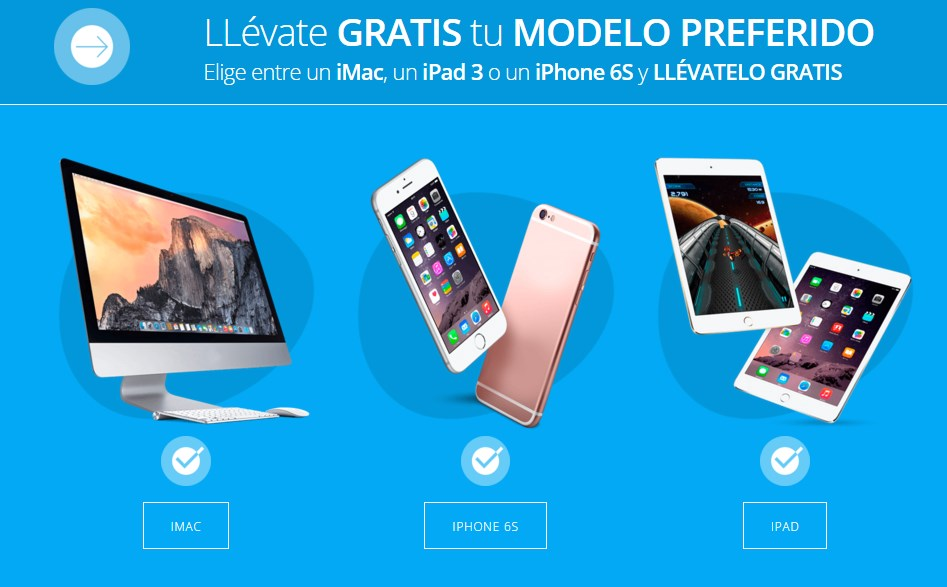 sorteo iphone- iphone gratis